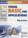 Leer jezelf professioneel Visual Basic voor Applicaties