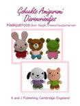 Eenvoudige Haakpatronen 3 - Gehaakte Amigurumi Dierenvriendjes Haakpatroon