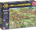 Jan van Haasteren Grasmaaierrace - Puzzel 2000 stukjes