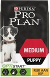 Pro Plan Medium Puppy OptiStart - Rijk aan Kip - Hondenvoer - 12 kg