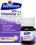 Davitamon Vitamine D 50+ Smelttabletten - 130 stuks - Voedingssupplement
