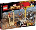 LEGO Super Heroes Rhino en Sandman Superschurk-samenwerking - 76037
