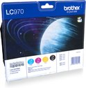 Brother LC970BK - Inktcartridge / Magenta / Geel / Cyaan