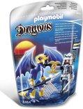 Playmobil IJsdraak met krijger - 5464