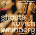 Chamber Symphonies + Weinberg: Concertino / Chamber Symphony in C minor