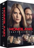 Homeland - Season 1-4 [Blu Ray] (import zonder NL ondertiteling)