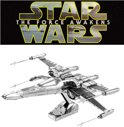 Metal Earth Star Wars EP7 Poe Dameron's X-Wing Fighter