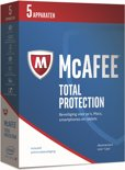 McAfee Total Protection - Nederlands - 5 Apparaten - PC / Mac / iOS / Android