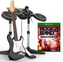 Rock Band 4 Band in a Box (Drum + Guitar + Microphone + Game)  Xbox One
