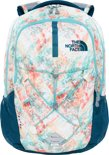 The North Face Jester - Backpack - 26 L - Golden haze neon geo print/deep teal blue