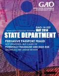 State Department Pervasive Passport Fraud Not Identified, But Cases of Potentially Fraudulent and High-Risk Issuances Are Under Review