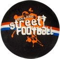 Avento Straatvoetbal - Holland-Brazil-World - Zwart/Oranje/Rood/Wit/Blauw - 5