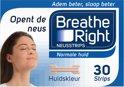 Breathe Right Tanned Large - 30 st - Neusstrips