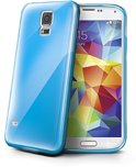 Celly - Gelskin Cover - Samsung Galaxy S5 (Plus) - blauw