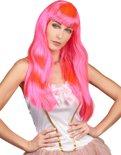 Pruik Chique - Roze
