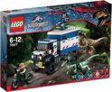 LEGO Jurassic World Raptorrooftocht - 75917