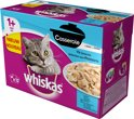 Whiskas Casserole - Adult - Vis - Selection in Gelei - 4 x (12 x 85) gr
