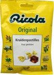Ricola Zwitserse Original - 75 gr - Kruidenbonbons