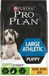 Pro Plan Puppy Large Athletic OptiStart - Rijk aan Kip - Hondenvoer - 3kg