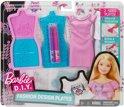 Barbie Ontwerpstudio Paars 9-delig