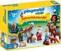 Playmobil 123 Adventskalender Kerst in het bos - 5497