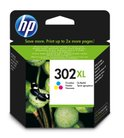HP 302XL - Inktcartridge / Kleur (F6U67AE)