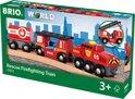 BRIO Trein van de brandweer - 33844
