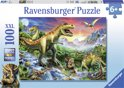 Ravensburger Bij de dinosaurussen - Puzzel van 100 stukjes