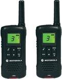 Motorola TLKR T60 - Draagbaar - radio in twee richtingen - PMR - 8 kanaals - zwart ( pakket van 2 )
