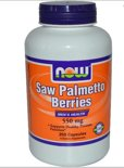 Saw Palmetto bessen, 550 mg (250 Capsules) - Now Foods
