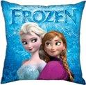Disney Frozen - Sierkussen - 40x40cm - Blauw