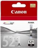 Canon Cli-521bk - Inktcartridge / Zwart