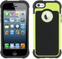 muvit iPhone 5 / 5S Anti-Shock Case Black/Green