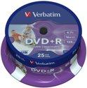 Verbatim 43539 DVD+R Wide Inkjet Printable ID Brand Schijven