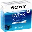 Sony DMR30A - 5 x DVD-R (8cm) - 1.4 GB - storage media