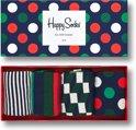 Happy Socks Holiday Big Dot Giftbox - Maat 41-46