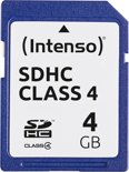 Intenso SD kaart 4GB