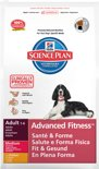 Hill'S Science Plan Canine Hondenvoer - Adult Advanced Fitness - Kip - 12 kg
