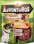 AdVENTuROS Sticks - Buffelwild - Hondensnack - 6 x 90 g