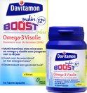 Davitamon Multi Boost Junior 12+ Omega Visolie - voedingssupplement - 60 Kauwcapsules