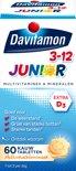 Davitamon Junior 3+ Kauwvitamines - multivitamine - multifruit - 60 tabletten
