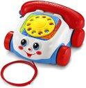 Fisher-Price Trekfiguur Telefoon - Rood