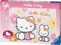 Hello Kitty In De Tuin