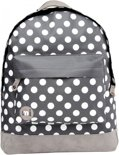 Mi-Pac All Polka Rugzak - Charcoal White