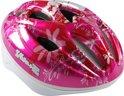 Volare Deluxe - Fietshelm - Kinderen - 51-55 cm - Roze met Bladeren