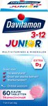 Davitamon Junior 3+ kauwvitamines - multivitamine - framboos - 60 tabletten