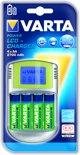 Varta LCD Charger + 4 x 2500 mAh NiMH batterijen