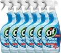Cif Badkamer Spray - 6 x 750 ml - Schoonmaakmiddel - Voordeelverpakking