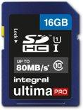 Integral UltimaPro 16GB - SDHC Geheugenkaart
