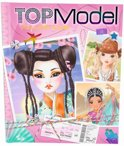 TopModel Around the world kleurboek
